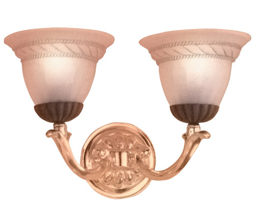 Classic Lighting 67812 BZ/G Orleans Gold Wall Sconce in Bronze
