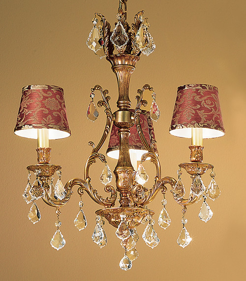 Classic Lighting 57362 FG S Majestic Crystal Chandelier in French Gold (Imported from Spain)
