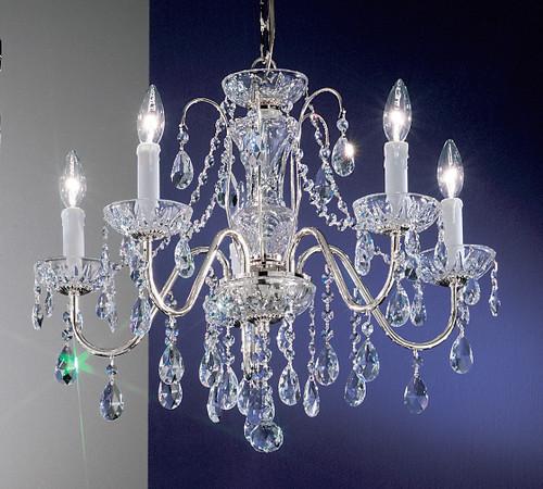 Classic Lighting 8385 EB S Daniele Crystal Chandelier in English Bronze