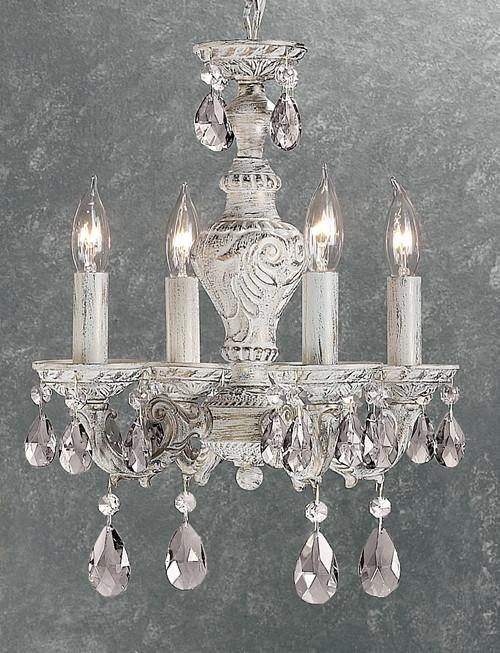 Classic Lighting 8332 OG PRO Petite Fleur Sconce with Wall Bracket