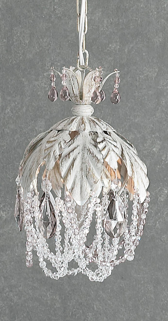 Classic Lighting 8332 AW PAM Petite Fleur Sconce with Wall Bracket