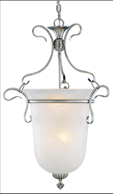 Classic Lighting 7996 PTR Bellwether Glass/Steel Pendant in Pewter