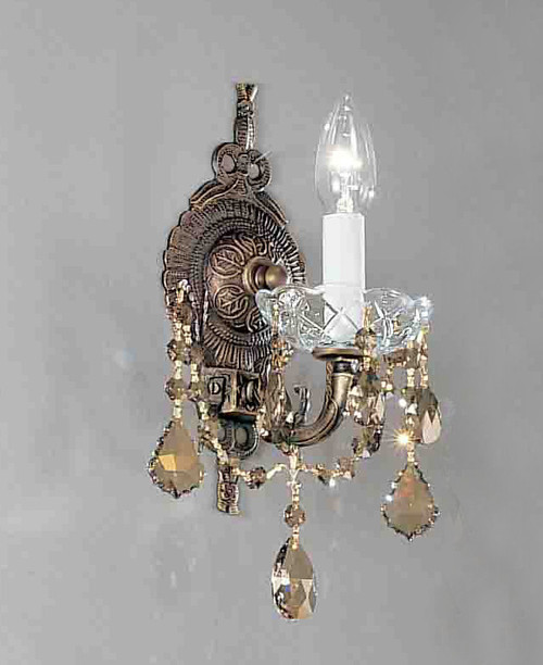 Classic Lighting 5541 OWB C Madrid Imperial Sconce with Wall Bracket