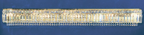 Classic Lighting 1627 G CP Ambassador Crystal Vanity Light in 24k Gold