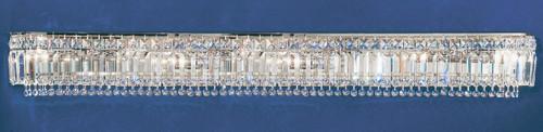 Classic Lighting 1627 CH S Ambassador Crystal Vanity Light in Chrome