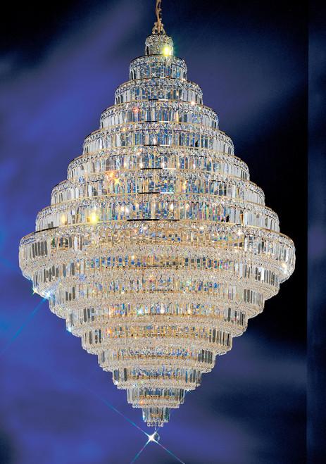 Classic Lighting 1606 G CP Ambassador Crystal Chandelier in 24k Gold