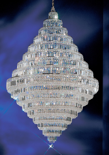 Classic Lighting 1606 CH CP Ambassador Crystal Chandelier in Chrome