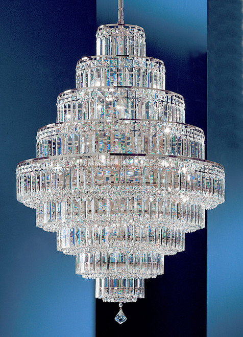 Classic Lighting 1604 CH S Ambassador Crystal Chandelier in Chrome