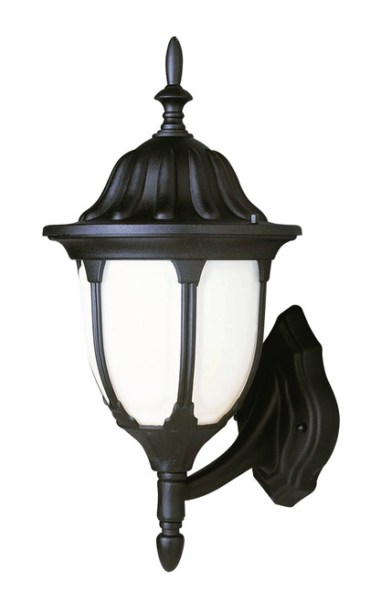 "Hamilton 13"" Outdoor Black Traditional Wall Lantern with Classic Landscaping Light Asthetics"