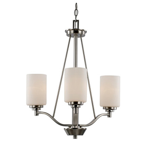 """Mod Pod Collection 20.5"""" Indoor Rubbed Oil Bronze Modern Chandelier"""
