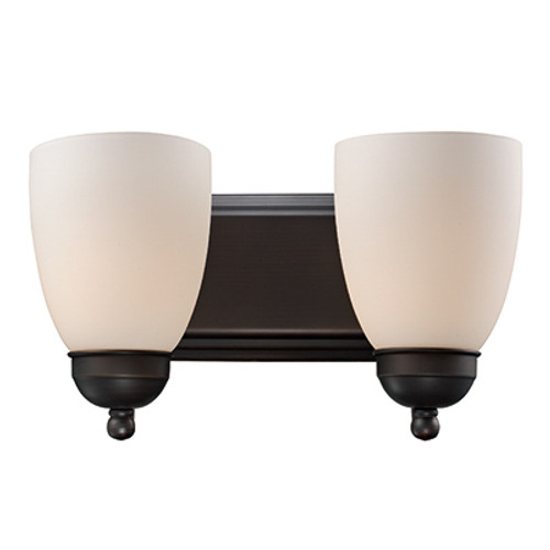 "Trans Globe Lighting 3502-1 ROB 14"" Indoor Rubbed Oil Bronze Traditional Vanity Bar"