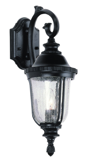 "Chessie 20"" Outdoor Black Traditional Wall Lantern with Classic Coach Style Fixture"