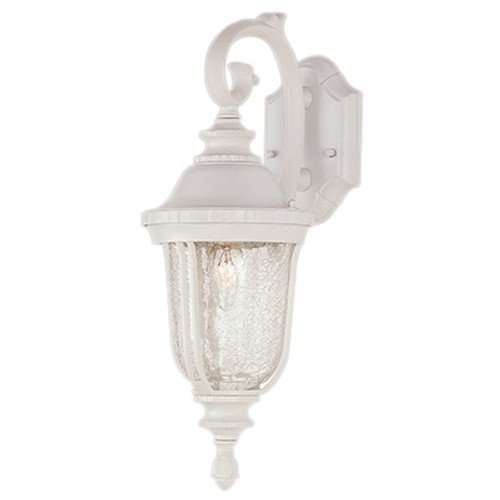 "Trans Globe Lighting 4020 WH 20"" Outdoor White Traditional Wall Lantern"