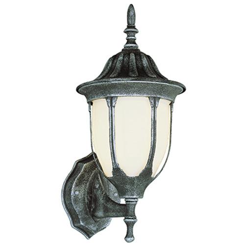 "Trans Globe Lighting 4040 SWI 13"" Outdoor Swedish Iron Traditional Wall Lantern"