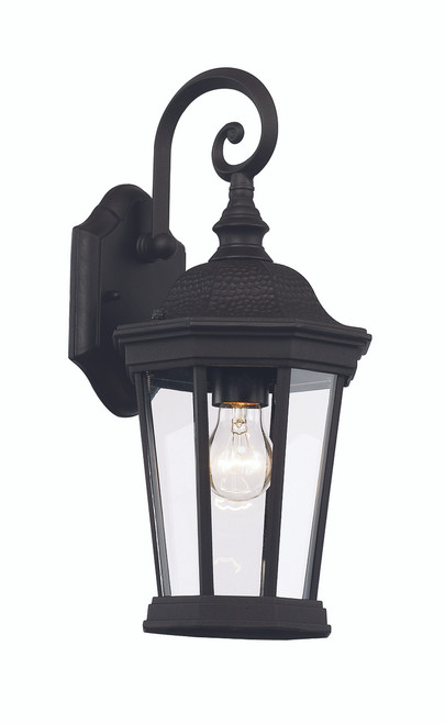 "Westfield 16"" Outdoor Black Traditional Wall Lantern"