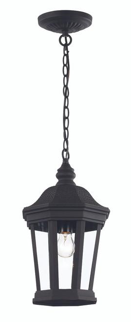 "Westfield 14.75"" Outdoor Black Traditional Hanging Lantern"
