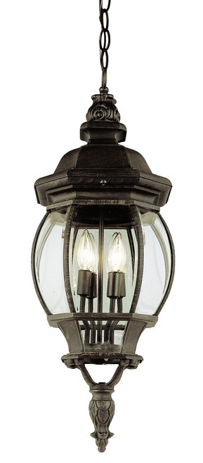 """Parsons 32"""" Outdoor Rust  Traditional Hanging Lantern"""
