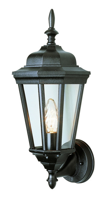 "San Rafael 17.25"" Outdoor Black Traditional Wall Lantern"