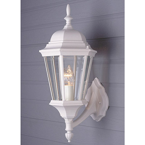 """Trans Globe Lighting 4250 WH 23"""" Outdoor White Traditional Wall Lantern"""