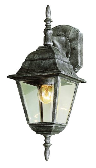 "Argyle 16.75"" Outdoor Swedish Iron Colonial  Wall Lantern"