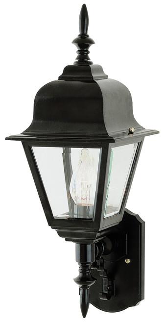 "Argyle 16.75"" Outdoor Black Colonial  Wall Lantern"