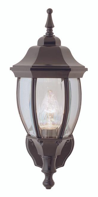 "Ojai 15.75"" Outdoor Black Traditional Wall Lantern"