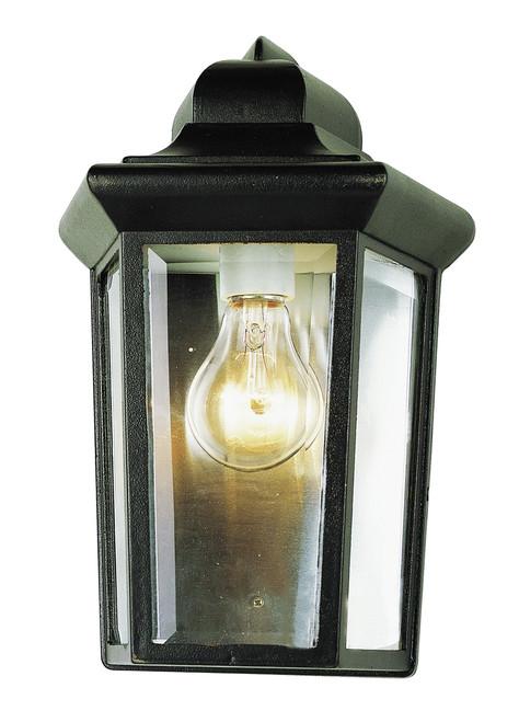 "Rendell 12"" Outdoor Black Traditional Pocket Lantern"