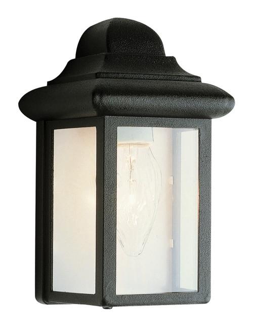 """Vista 8.5"""" Outdoor Black Traditional Pocket Lantern"""