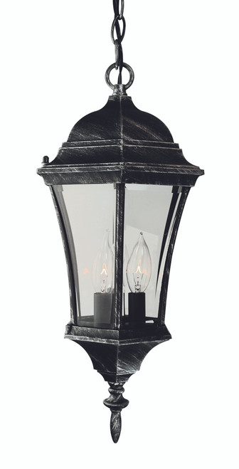 "Burlington 19.5"" Outdoor Swedish Iron Hanging Lantern with Traditional Coach Design"
