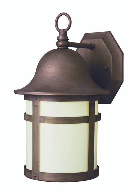 "Thomas 16"" Outdoor Weathered Bronze Transitional  Wall Lantern"
