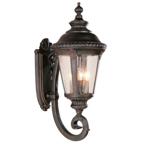 "Trans Globe Lighting 5042 RT 29"" Outdoor Rust Tuscan Wall Lantern"