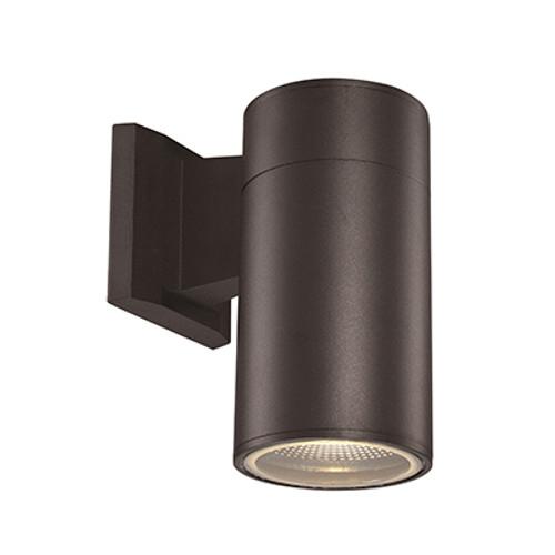 """Trans Globe Lighting LED-50021 BK 8"""" Outdoor Black Modern Pocket Lantern"""