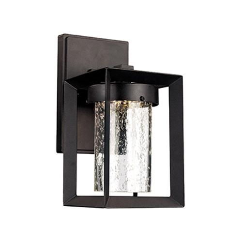 "Taylor 9.5"" Outdoor Black Contemporary Wall Lantern"