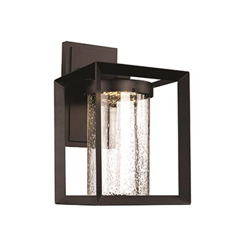 "Taylor 14.75"" Outdoor Black Contemporary Wall Lantern"