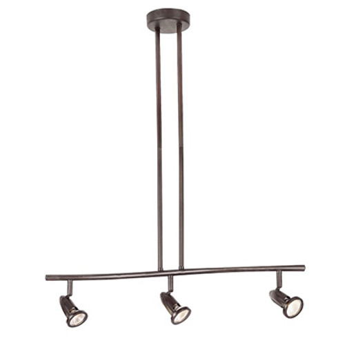 "Stingray 26.5"" Indoor Rubbed Oil Bronze Modern Track Light"