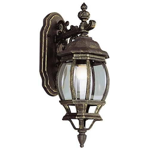 "Trans Globe Lighting 4053 BC 20"" Outdoor Black Copper Tuscan Wall Lantern(Shown in BG Finish)"