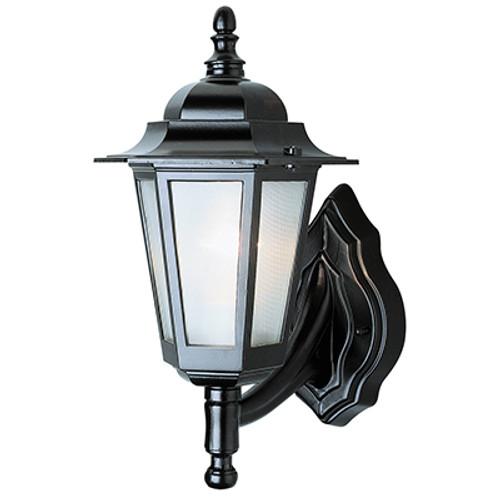 "Trans Globe Lighting 4055 BG 14.5"" Outdoor Black Gold Traditional Wall Lantern(Shown in Black Finish)"