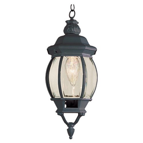 """Trans Globe Lighting 4065 BC 20.5"""" Outdoor Black Copper Traditional Hanging Lantern(Shown in Black Finish)"""