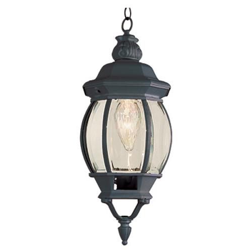 "Trans Globe Lighting 4065 BG 20.5"" Outdoor Black Gold Traditional Hanging Lantern(Shown in Black Finish)"