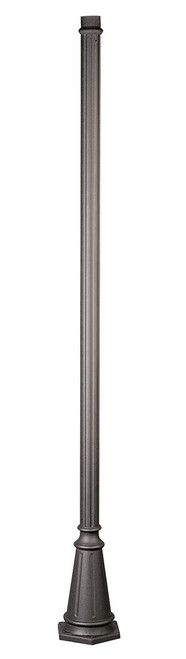 "Trans Globe Lighting 4099 RT 90"" Outdoor Rust Traditional Pole Base"