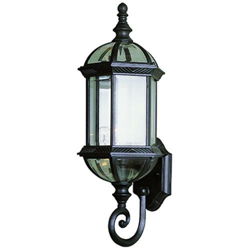 "Trans Globe Lighting 4180 SWI 22.25"" Outdoor Swedish Iron Traditional Wall Lantern(Shown in Black Finish)"