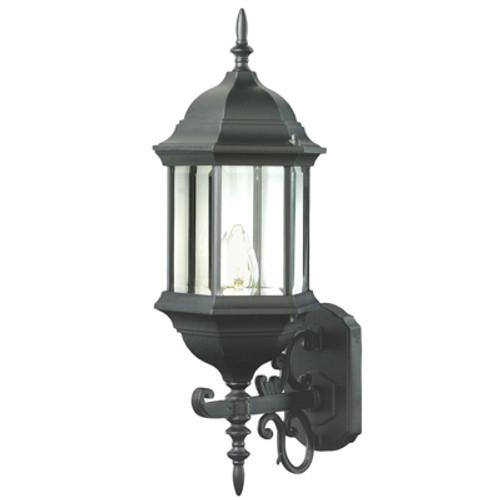 "Trans Globe Lighting 4351 BG 26"" Outdoor Black Gold Colonial  Wall Lantern (Shown in BK)"
