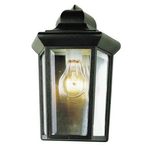 "Trans Globe Lighting 4483 RT 12"" Outdoor Rust  Traditional Pocket Lantern (Shown in Black Finish)"