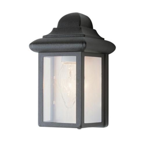 "Trans Globe Lighting 44835 BG 8.5"" Outdoor Black Gold Traditional Pocket Lantern (Shown in Black Finish)"