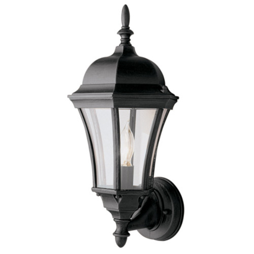"""Trans Globe Lighting 4502 WH 17"""" Outdoor White Traditional Wall Lantern(Shown in BK)"""