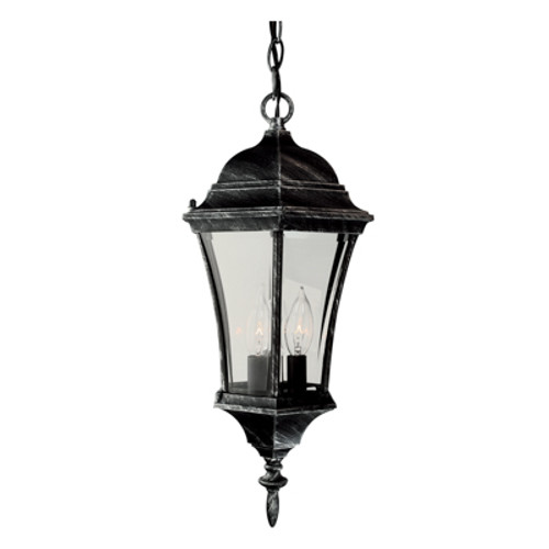 """Trans Globe Lighting 4505 BC 19.5"""" Outdoor Black Copper Traditional Hanging Lantern(Shown in SWI)"""