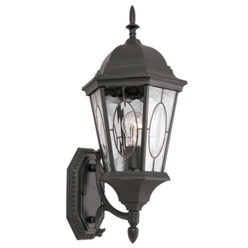 "Trans Globe Lighting 4715 RT 21"" Outdoor Rust Spanish Wall Lantern(Shown in BK Finish)"