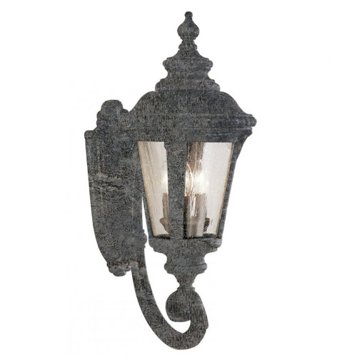 "Trans Globe Lighting 5042 SWI 29"" Outdoor Swedish Iron Tuscan Wall Lantern"