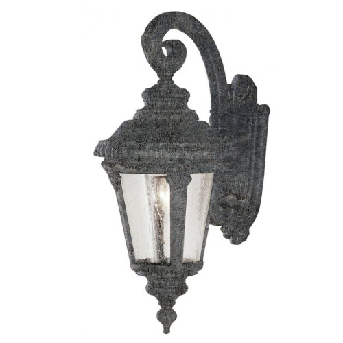 "Trans Globe Lighting 5044 SWI 25"" Outdoor Swedish Iron Tuscan Wall Lantern"