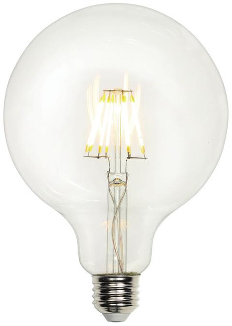 Westinghouse 4317400 4.5 Watt (40 Watt Equivalent) G40 Dimmable Filament LED Light Bulb 2700K Clear E26 (Medium) Base, 120 Volt